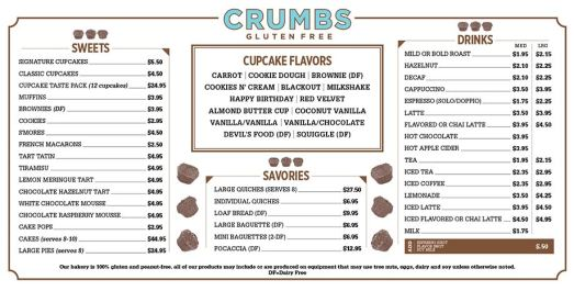 Crumbs GlutenFree