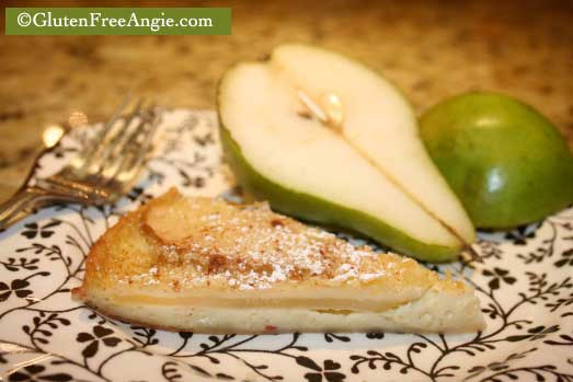 pear custard pie