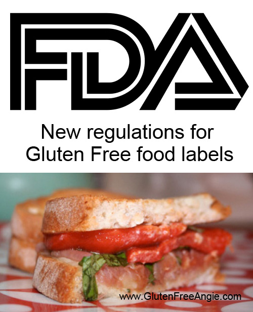 gluten free label regulation