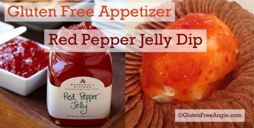red pepper jelly dip